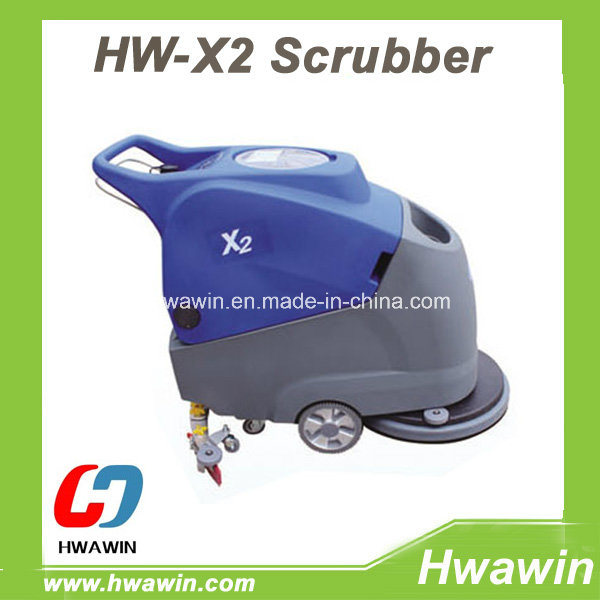 Electric Floor Scrubber Machine (Hand Push Type)
