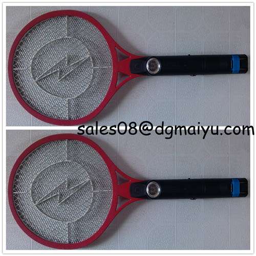 Rechargeable LED Electric Mosquito Killer Fly Swatter Zapper Bug Swatter Racket My-001b /LED