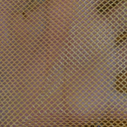 Net Fabric with Diamond-Shaped Hole, Hexagonal Shaped Hole