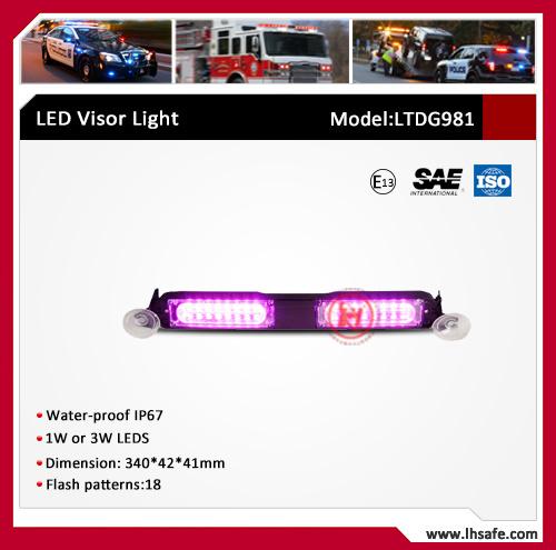 LED Warning Visor Light (LTDG-981)