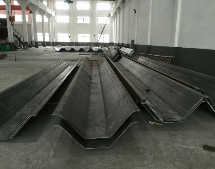 Pilling Beam with Heavy Wall