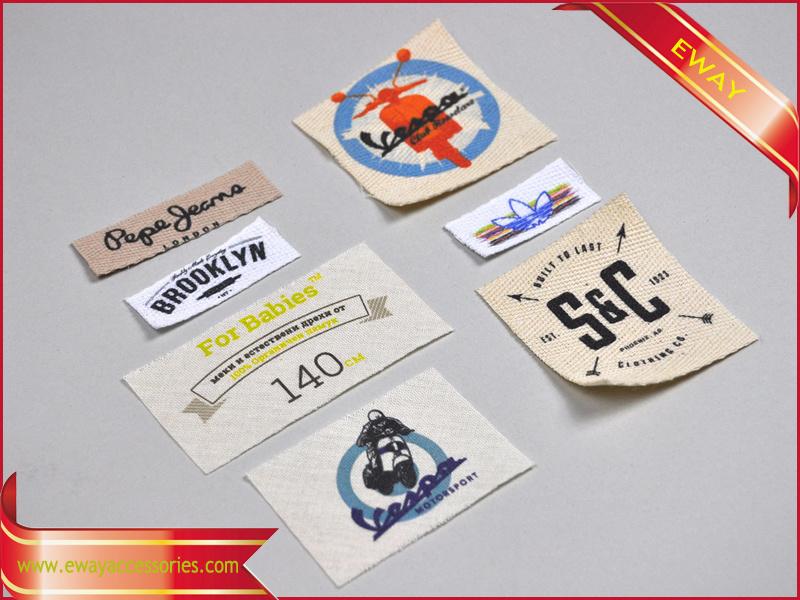 Custom Label Printing Faric Print Label for Garment