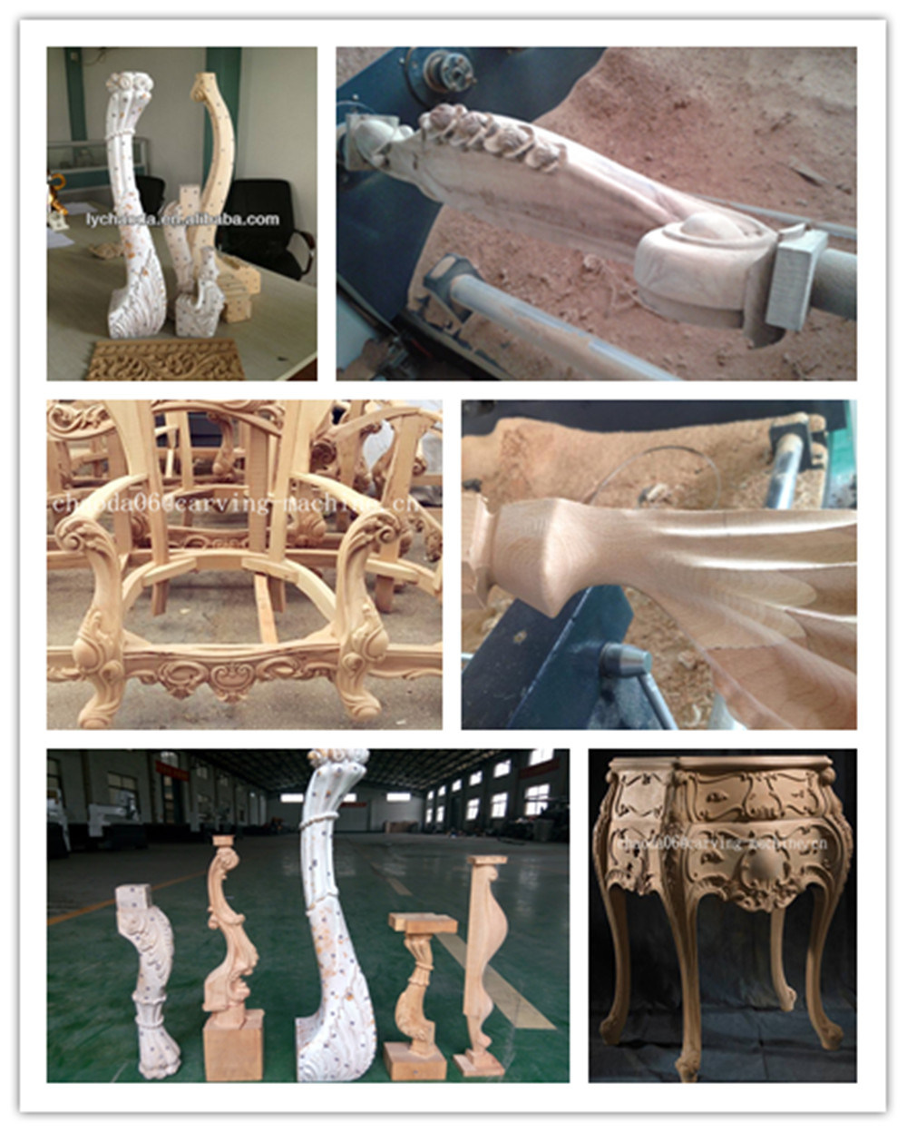 5 Eksen CNC Router, 5 Axis CNC Wood Carving Machine