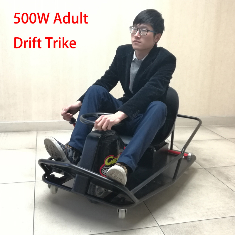 500W Adult Soliding Tricycle Drift Electric Go Kart (CK-02)