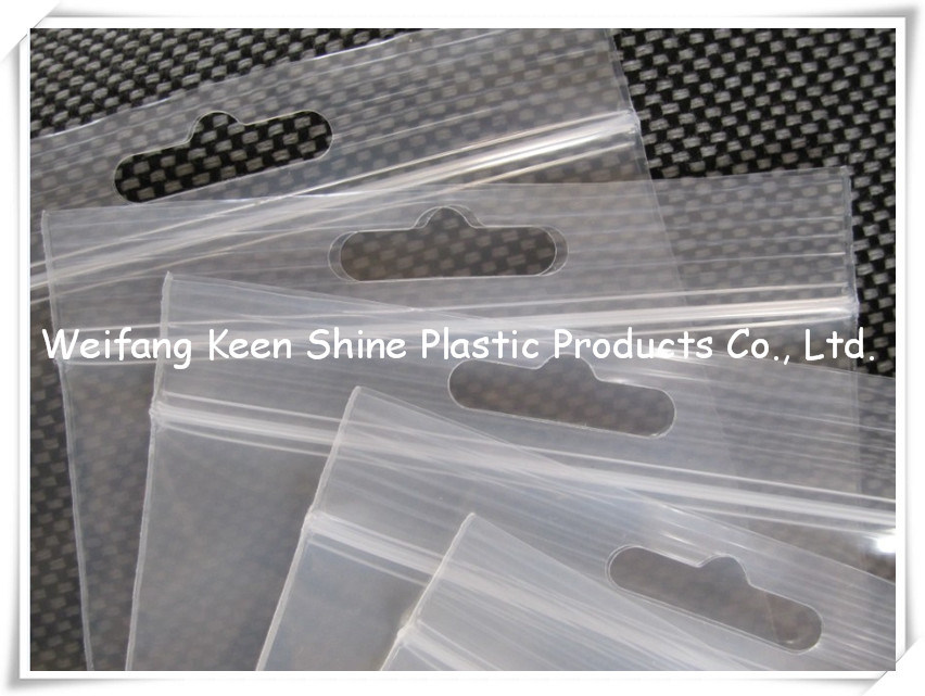 Plain Differeent Size Zipper Bag Ziplock Bag for Industry