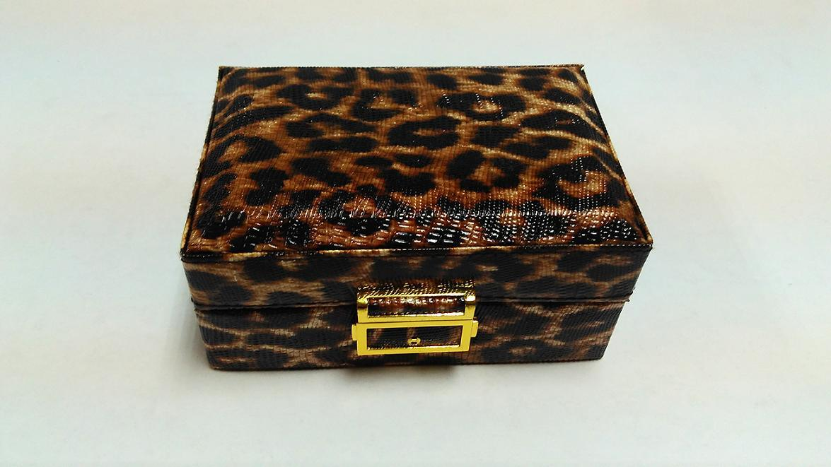 Luxury Leather Jewelry Box