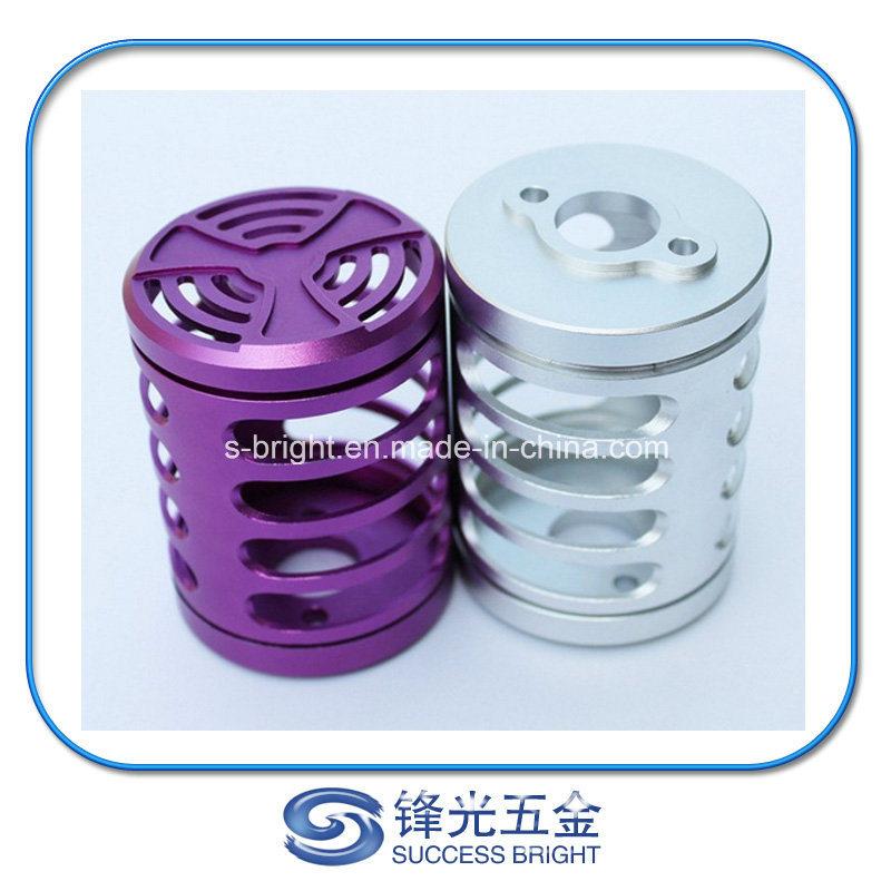 High Precision Aluminum Textile Machine Steady, Al6061 CNC Machined Parts W-014