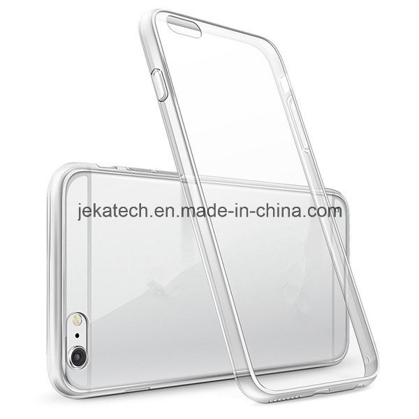 Clear PC Back TPU Bumper Mobile Phone Case for iPhone 6/6s