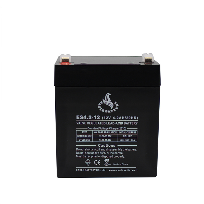 6V 2.8ah Maintenance Free Rechargeable Lead Acid Battery for Alarm