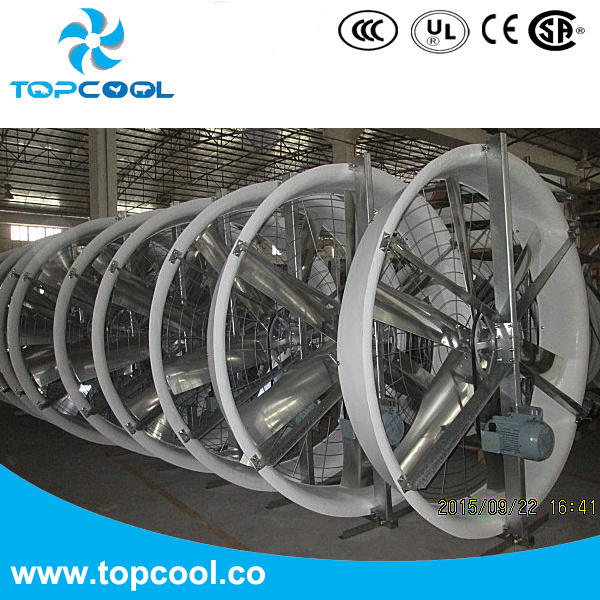 """High Efficiency Ventilating Panel Fan 72"""" for Livestock Barn and Industry Application!"""
