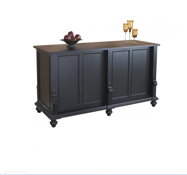 Island Counter /Wood Case/ Wood Display/Wood Stand