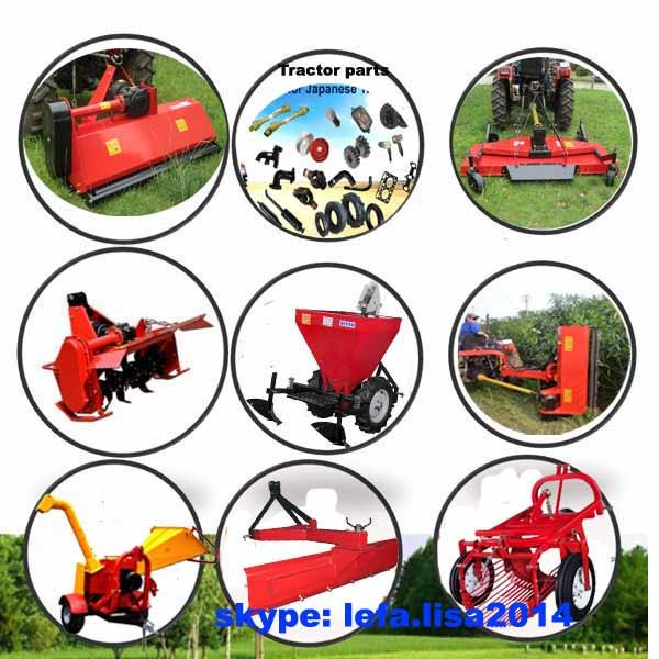 Heavy Flail Mower Larger Blades Hammers (EFD EFH)