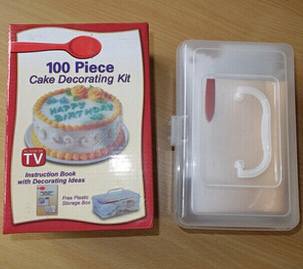 China 100 Piece Cake Decorating Kit for Promotion (MH ...