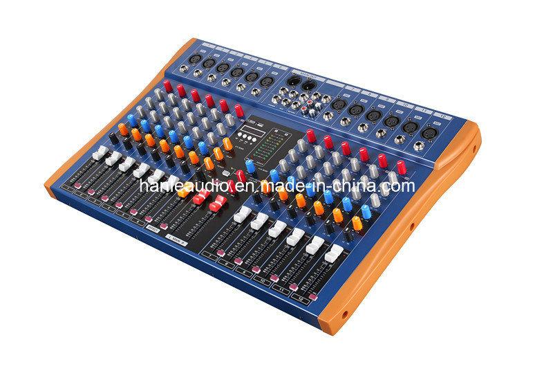 Mixing Console/Hl-12u/Mixer/Soud Mixer/Professional Mixer /Console/Sound Console/Brand Mixer