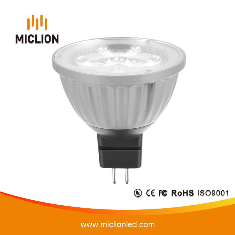 3W MR16 LED Spotlight with Plastic Base