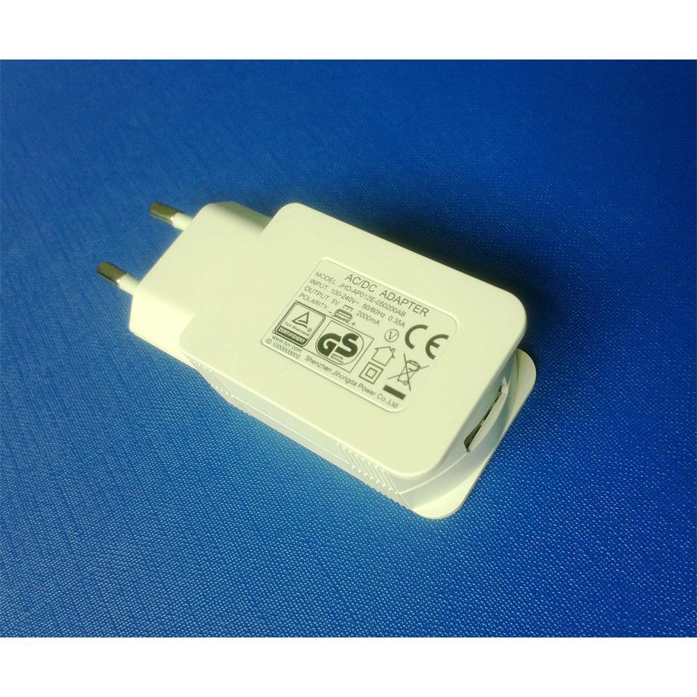 White 5V2000mA USB Power Adapter in Charger