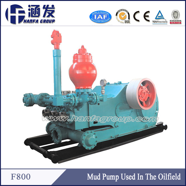 F-800 High Quality Oil and Gas Field Drilling Mud Sand Pump
