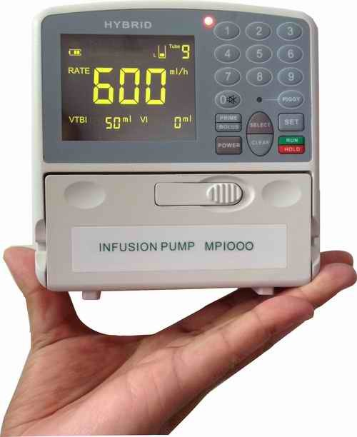 CE Marked, Portable Mini Medical Pump (for Baxter, B. Bran, IV01 Tube)