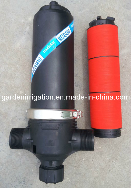 (T Y Type Bsp 1-1/4′′, 1-1/2′′, 2′′, 2-1/2′′) Fresh PP Disc Fliter/Screen Filter Irrigation/Garden Irrigation Equipment (MX9404)