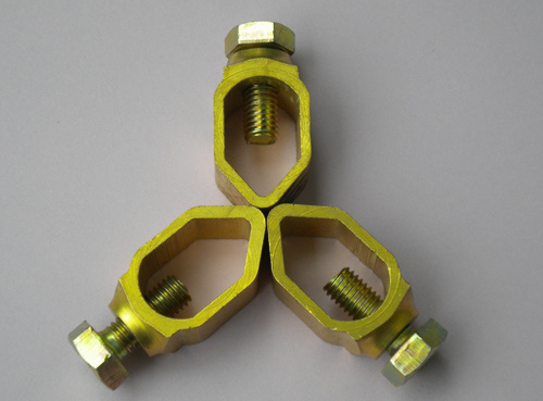 Various Shap Brass Earthing Accessories Grounding Products