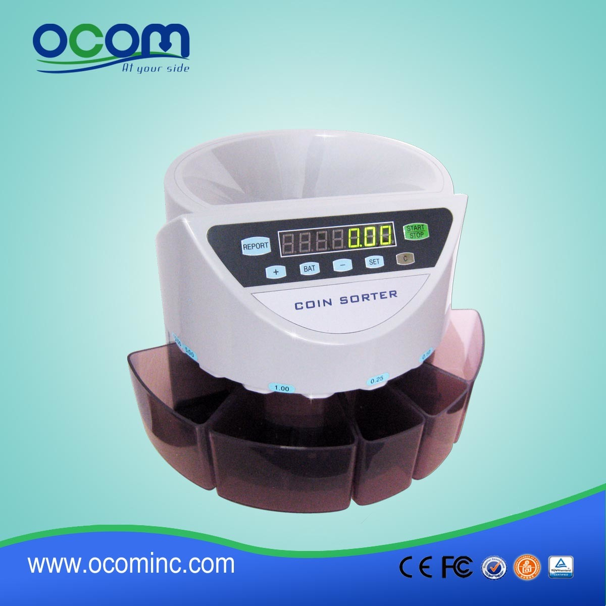 Auto Counting Coin Counter