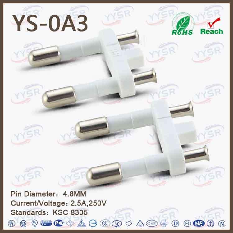 4.8mm Korea Plug Insert