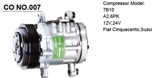 TM-31 Bus Compressor for Air Conditioner
