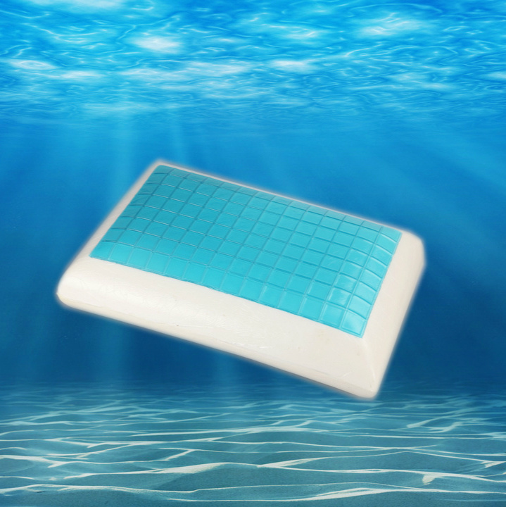 Cooling Gel Memory Foam Pillow/Bread Shape Bedding/Sleeping Pillow
