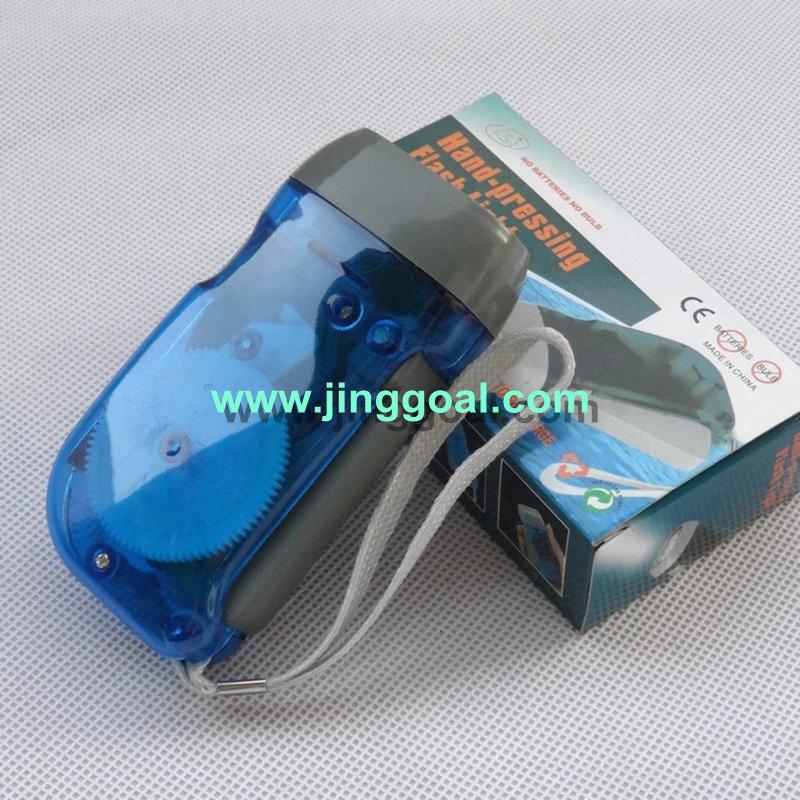 LED Dynamo Flashlight