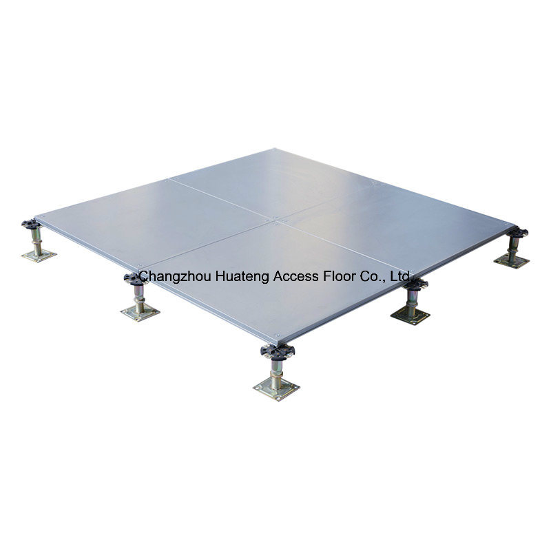Encapsulated Raised Access Floor with Corner System