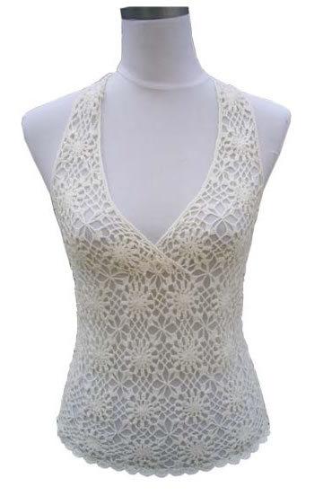 China Hand Crochet Sweaters - China Crochet, Knit