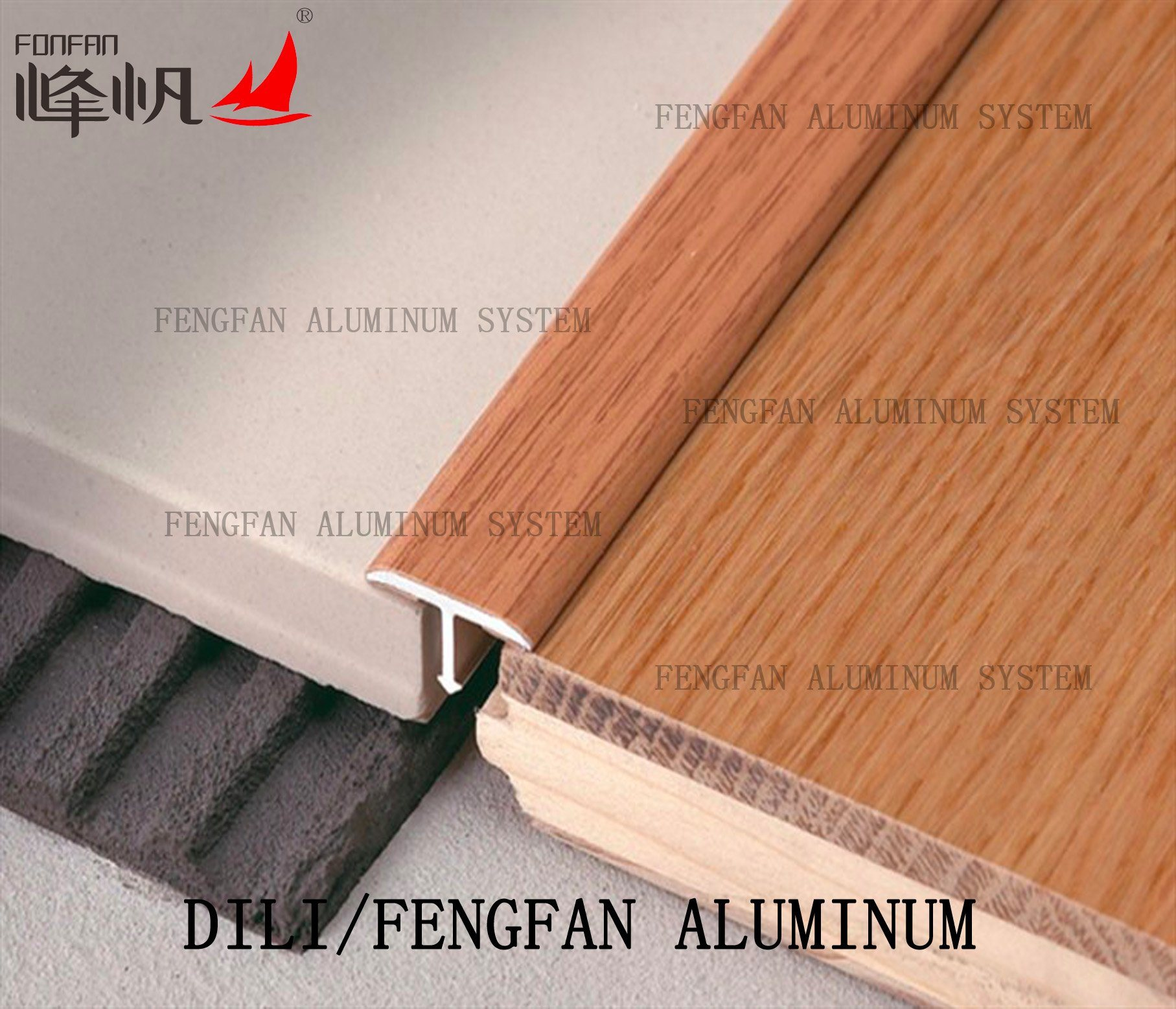 Aluminum T Shape Flooring Profile
