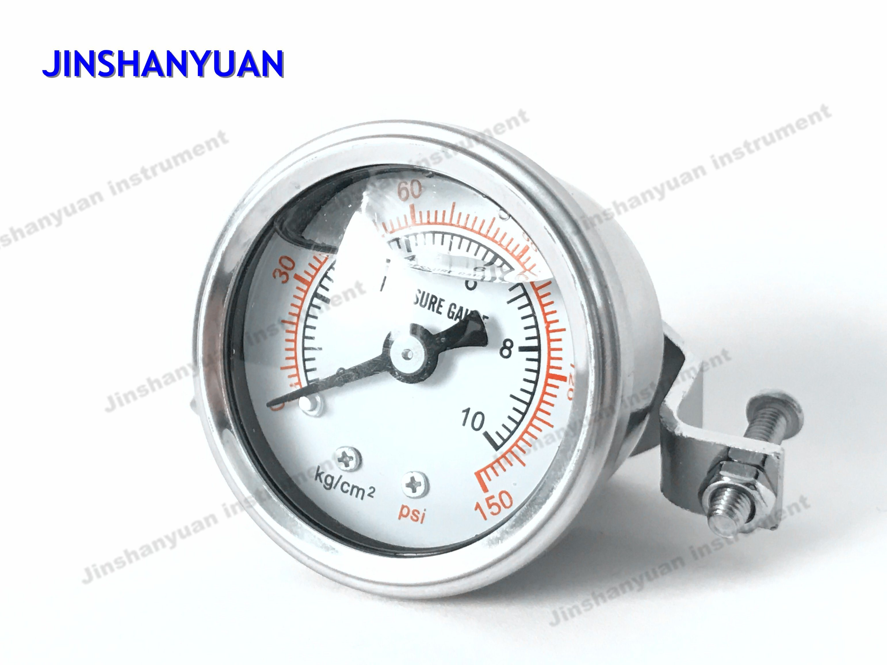 Og-003 Liquid Filled Manometer with Clamp/Pressure Gauge