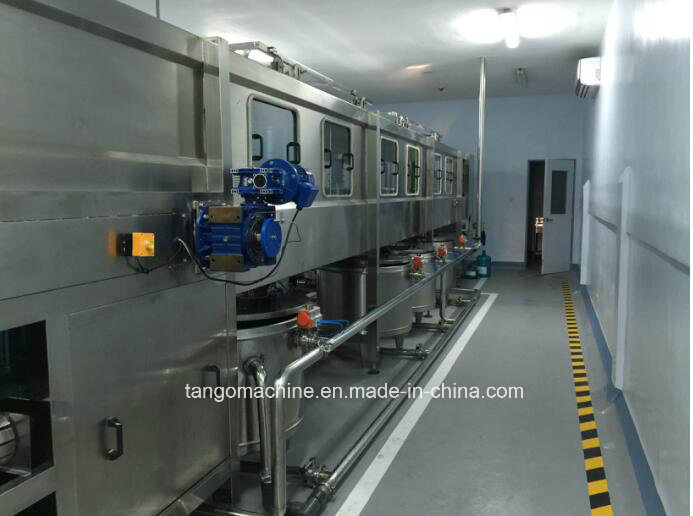 2400bph 2000bph 1500bph 5gallon Barrel Washing Filling Capping Bottling Equipment Complete Production Line