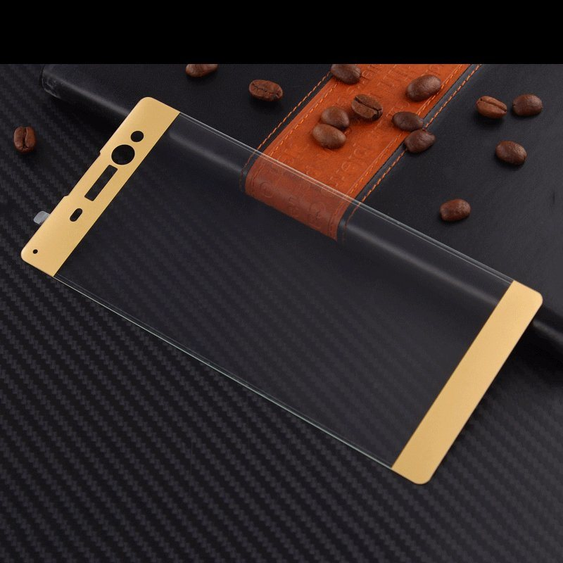 3D Curved Surface Full Covered Full Protection Tempered Glass Screen Protector for Sony Xa