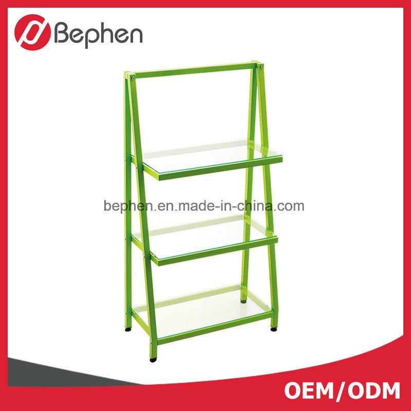 Color Powder-Coating Metal Shelf Book Shelf Furniture Shelf