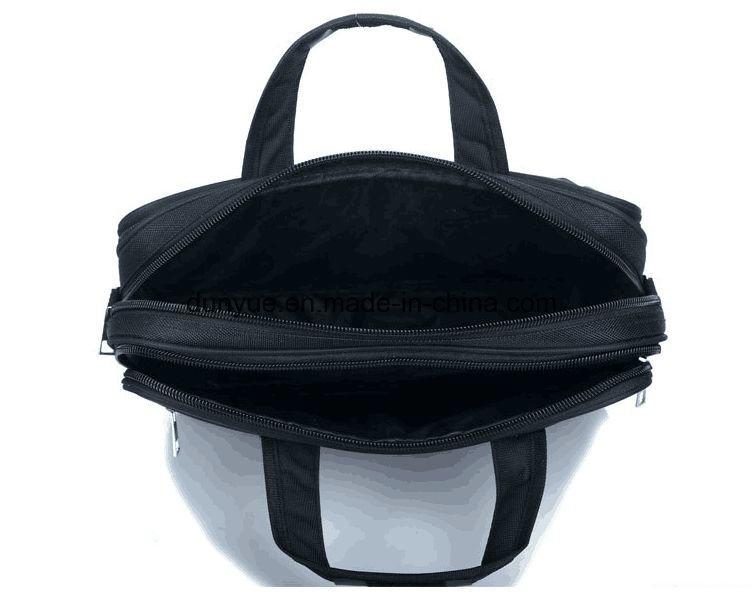 "China Supplier Low MOQ Promotional Nylon Laptop Messenger Bag, OEM Multifunctional Laptop Briefcase Bag Fit for 15.6"" Laptop"