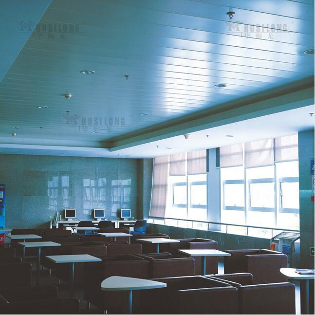 Interior Design Aluminum Linear C-Shaped Strip False Ceiling