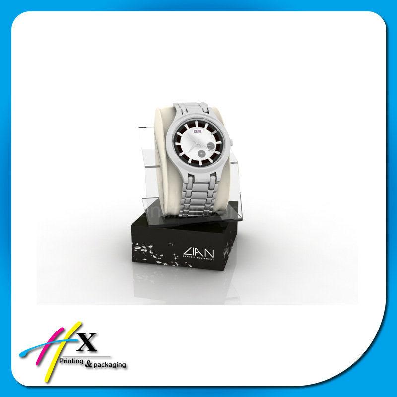 Customized Luxury Wooden Watch Display Equipment