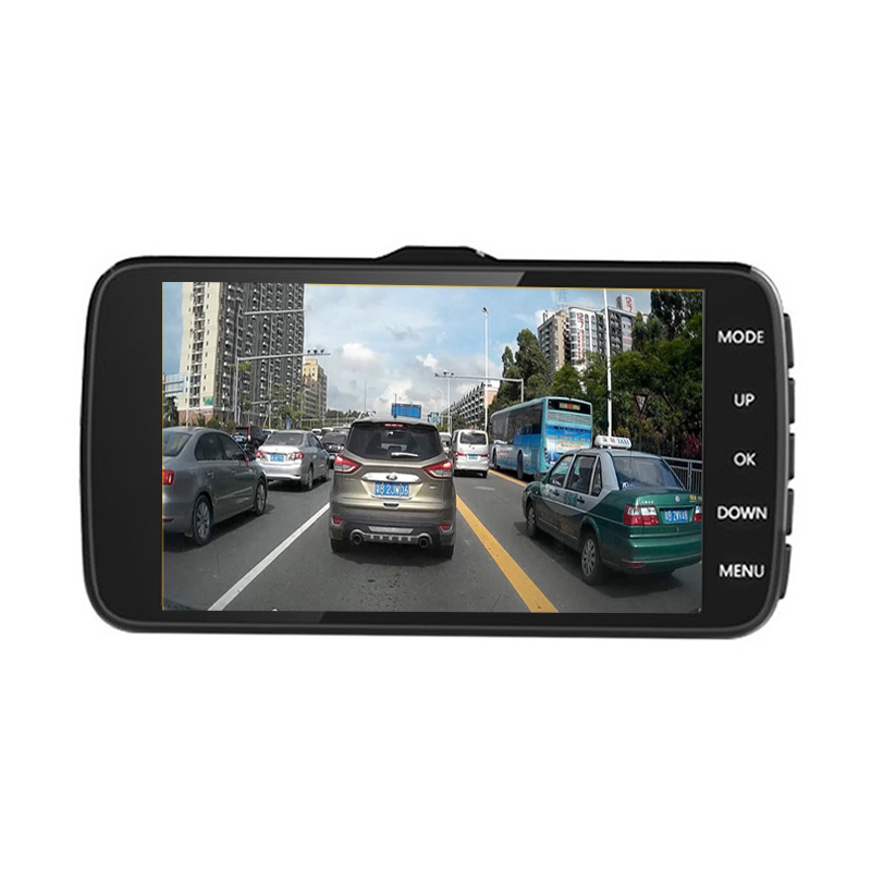 Mini Portable Car DVR Dual Camera Lens Video Recorder