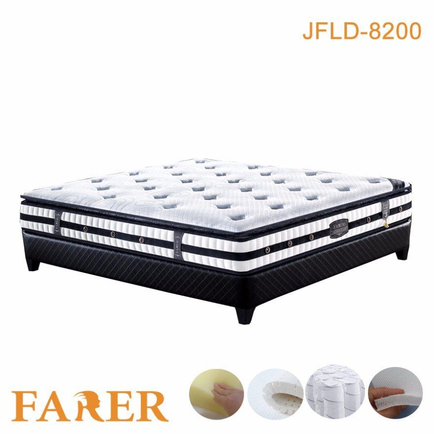 Luxury Design Home Furniture Good Sleep Natural Latex Foam Mattress