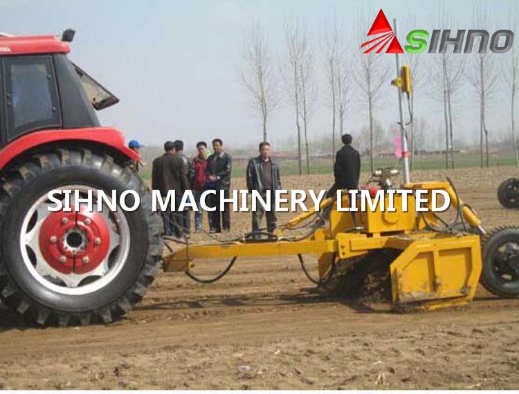 2.5-4.5m Laser Land Leveler for Tractor, Auto Leveling Land Scraper