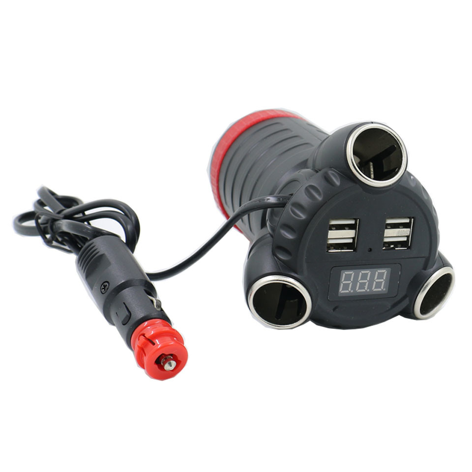 The Most Powerful Car Adaptor C30  Cup Holder Style to Save The Occupied Space of Car