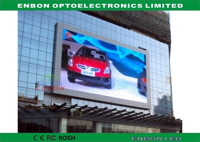 P6 Outdoor Advertising LED Display for Shopping Mall