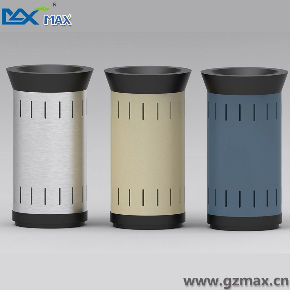 Novelty 1 Separate Public Classified Metal Stainless Steel Office Customized Recycling Rubbish Bin