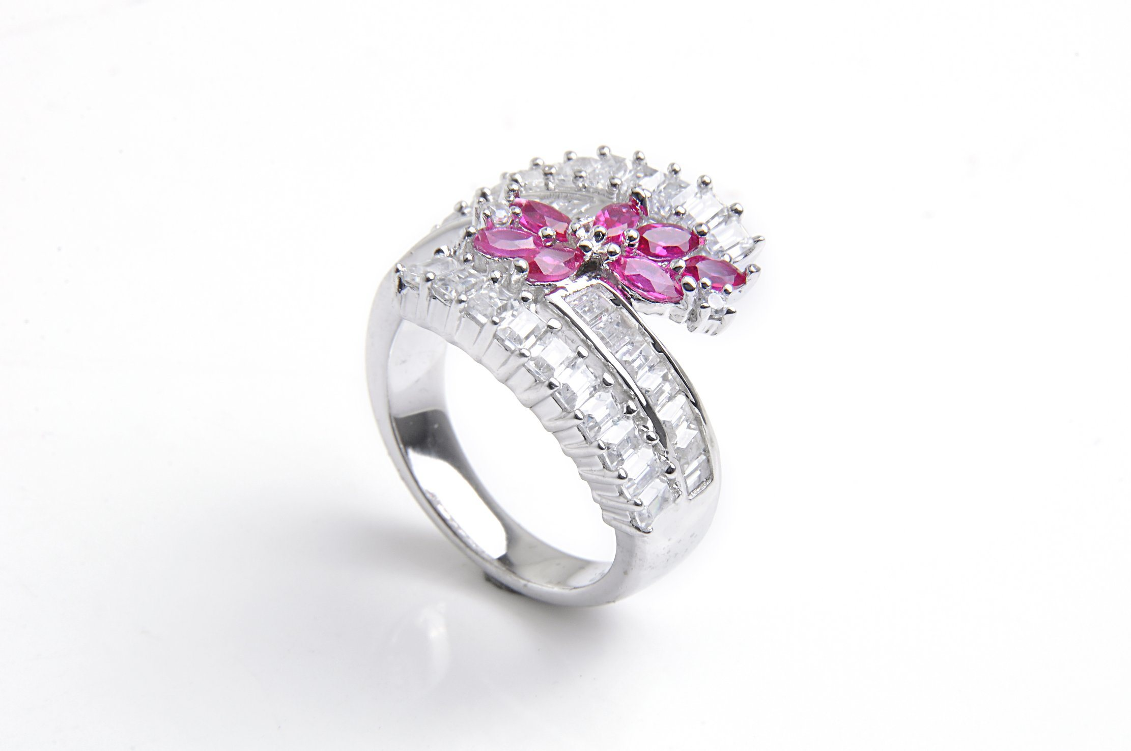 Fashion 925 Sterling Silver Jewelry with CZ