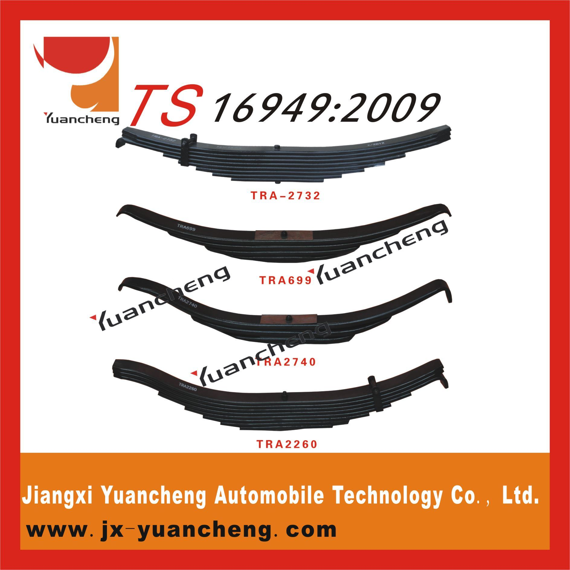 High Quality Trailer Tra Leaf Spring Leaf Spring Manufacturers