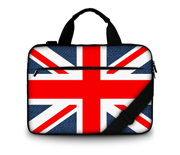 15.6 Customization Canvas Laptop Bag for MacBook/HP/Acer/Lenovo
