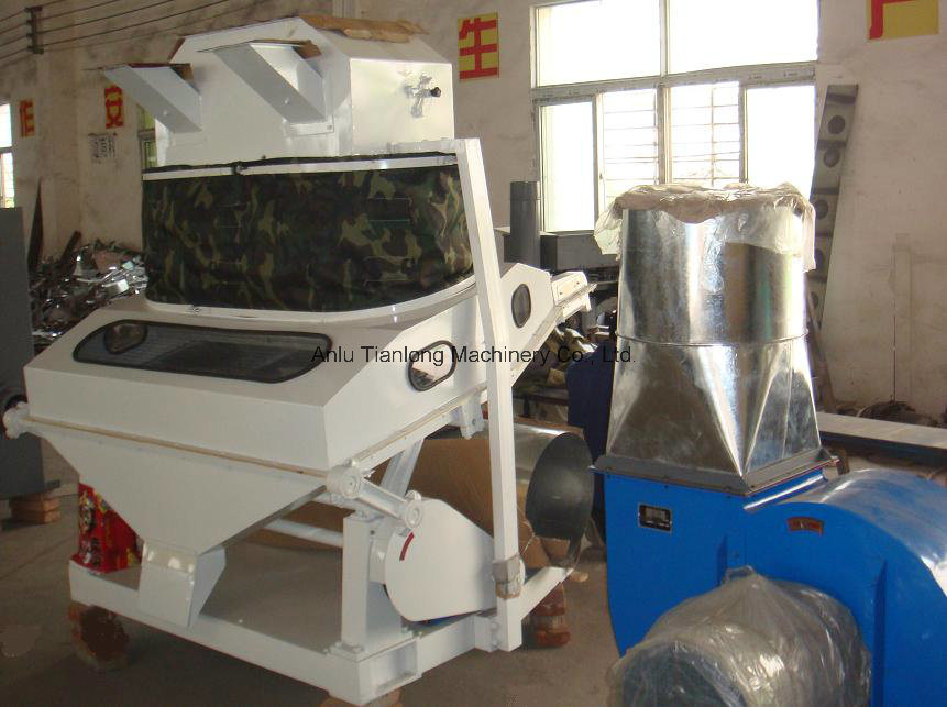 Tqsx125 Suction Type Gravity Stoner