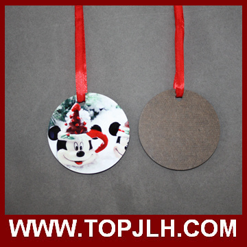 MDF Wooden Sublimation Christmas Tree Ornament